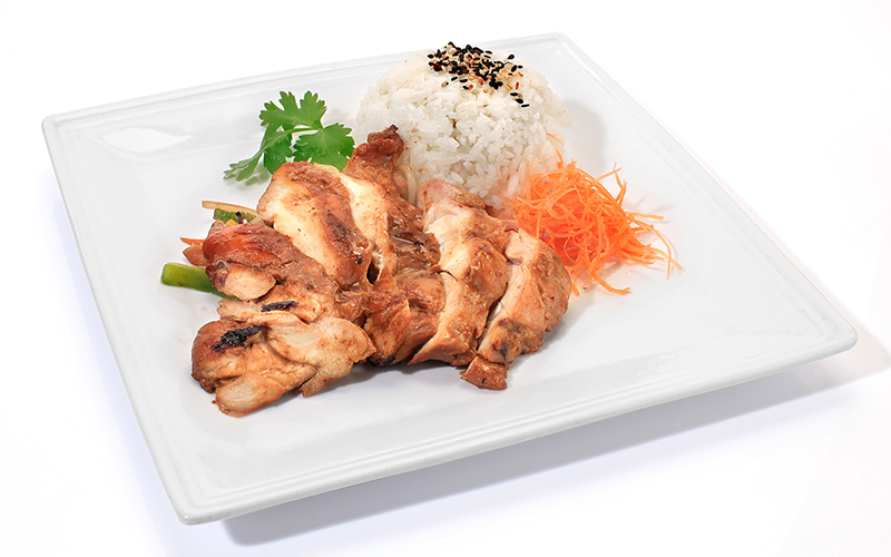 "/<br><font style=""color:#00974a;""><b>Teriyaki Chicken</b></font>"