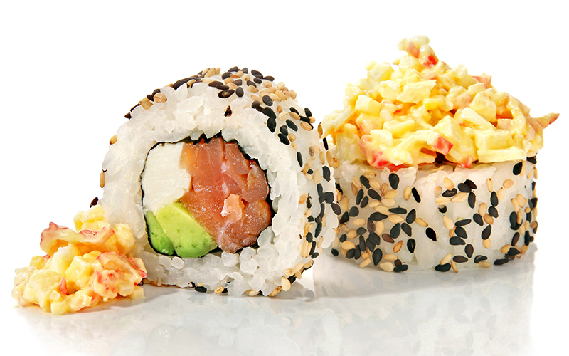 "/<br><font style=""color:#00974a;""><b>Kani Salad Roll</b></font>"