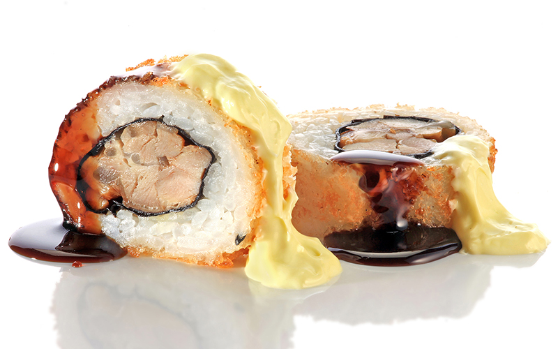 "/<br><font style=""color:#00974a;""><b>Teriyaki Chicken Furai Roll</b></font>"