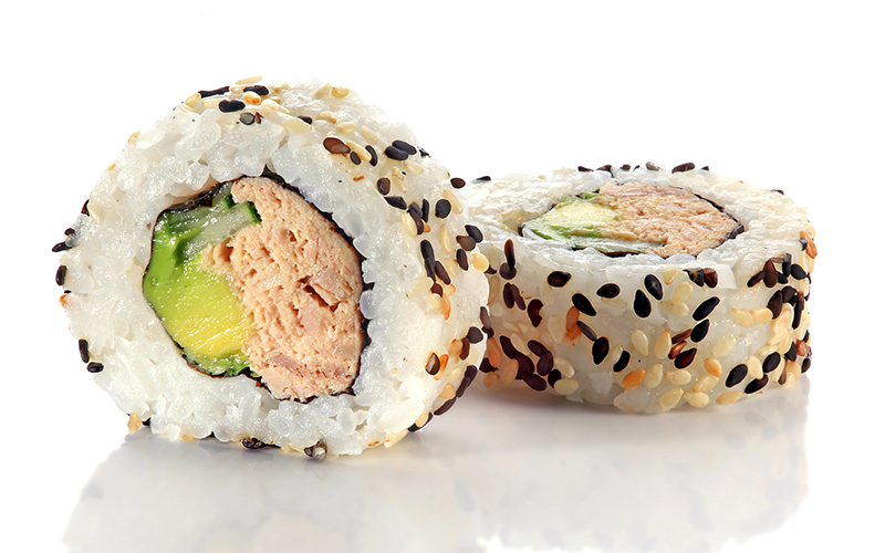 "/<br><font style=""color:#00974a;""><b>Tuna Roll</b></font>"